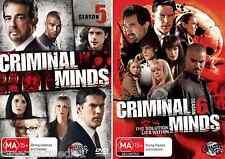 Criminal Minds Season 5 & 6 : NEW DVD