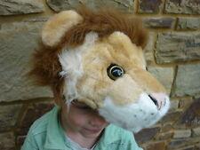 NEW Wild Republic 89675 Plush Safari Lion Hoodie Hat Cap - One Size - Dress Ups