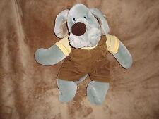 """Wrinkles grey color Boy Dog 1981 Heritage Ganzbros Plush 18"""" Puppet"""
