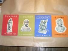 LOT 4 MAGAZINES 1950 SUR L'ENFANT / MOYEN AGE, RENAISSANCE, XVIIème, XVIIIème
