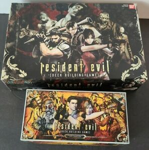 Resident Evil Deck Building Game and Outbreak Expansion Set COMPLETE 2010