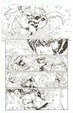 Avengers: Earth's Mightiest Heroes #3 p21 Wasp vs Wendigo by Patrick Scherberger Comic Art