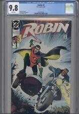 Robin #3 CGC 9.8 1991 DC Batman's sidekick Comic: PGX 9.9 Re graded by CGC