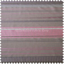 Elegant Odyssey Design Pattern Pink Plum Heather Taffeta Silk Fabric Curtain New