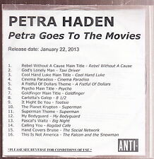 petra haden petra goes to the movies cd promo