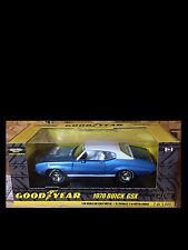 1970 Buick GSX Blue 1:18 Ertl American Muscle 33434