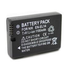EN-EL14 ENEL14 battery for Nikon D3100 D3200 D3300 D5100 D5200 D5300 COOLPIX