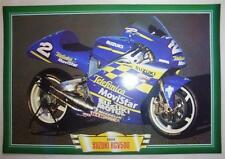 SUZUKI RGV500 RGV 500 MOTORCYCLE MOVISTAR RACE BIKE PICTURE 2000 KENNY ROBERTS