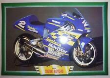 SUZUKI RGV500 RGV 500 MOTORCYCLE MOVISTAR RACE BIKE PICTURE 2000 KENNY ROBERTS