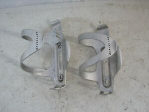 BONTRAGER LIGHTWEIGHT ALLOY WATER BOTTLE CAGES - SILVER 2 Cages