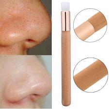 Women Soft Pincel Face Nose Kabuki Makeup Deep Cleaning Brush Accessory Tool
