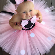 BABY GIRLS MY 1ST BIRTHDAY CAKE SMASH PINK OUTFIT  PHOTO SHOOT PARTY PROP PINK S
