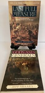 Last Full Measure & Gods And Generals Set Jeff Shaara Large Softcover