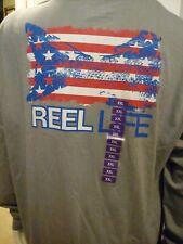 Reel Life Men's Ocean Washed Tee Shirt*Large*NWT