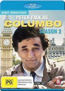 Columbo : Season 2 Blu-ray - brand new sealed 3disc set with special features!
