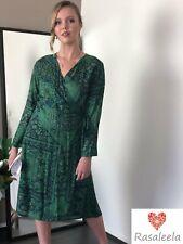 Mic Paisley Wrap Dress