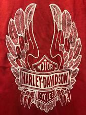 VTG 70s NOS small Harley Davidson motorcycle eagle biker SHIRT