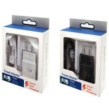 1/2/3 Pack US Plug Fast Charge Wall Adapter Charger + Micro USB Data Cable Cord