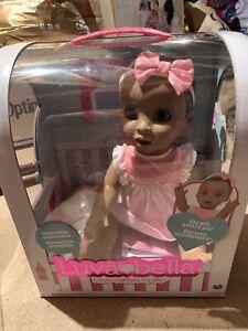 Luvabella Doll – Dark Brown Hair -African / American Responsive Baby Doll