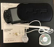 SONY PSP 1001 BLACK PLAY STATION HAND HELD PORTABLE