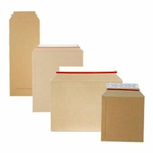 Cardboard Amazon Style Book Mailers A4 A3 CD DVD Strong
