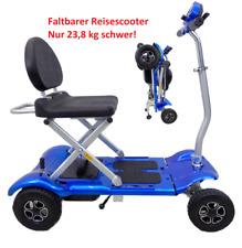 +NEU+  Faltbares Elektromobil Seniorenmobil Elektroroller E Scooter Lithium Akku
