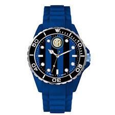 Orologio polso INTER in silicone blu da adulto con scatola regalo prod.ufficiale