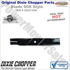 """30227-60X Dixie Chopper Standard X Blade for 60"""" Deck Lawn Mowers"""