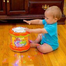 Musical Enfants Tambour Jeu Bébé enfant toddler colorées Lumières musique jouet éducatif