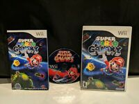 Super Mario Galaxy (Nintendo Wii, 2007) Complete with manual