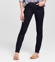 Universal Thread Women's High Rise Skinny Dark Wash Jeans NWT Free Shipping