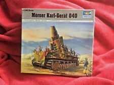Trumpeter Morser Karl-Gerat 040. 1:144 scale.