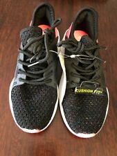 Girls Black Flare Athletic Cushion Fit Shoes Size 13 by Champion New