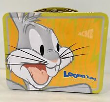 Looney Tunes Bugs Bunny Back In Action Metal Lunchbox