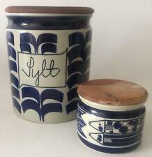 XXL Marianne Westman Roerstrand Keramik Sylt Deckeldose Container Skandinavien