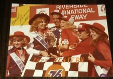 David Pearson 1977 RIVERSIDE WESTERN 500 VICTORY LANE signed 8x10 photo 1 of 1
