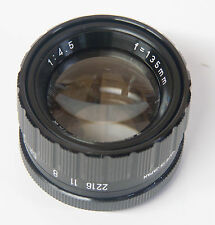 JML Optical 135mm f4.5 Barrel Mount EnlargingLens M-39 Leica Thread