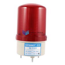 N-1101  Industrial Red LED Blinking Rotating Warning Light Bulb Signal Tower Lam