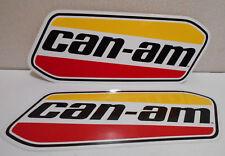 "Lot of 2 can-am canam sticker quad ATV decals 7"" X 2 3/4"""