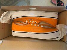 Vans Authentic Dark Cheddar Orange White Mens Size 4 Women size 5.5 VN0A38EMUKU