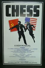 "Chess Musical Theater Broadway Window Card Poster 14"" x 22"""