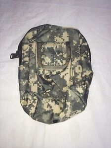 Tactical Tailor Zipper Utility Pouch in Camo - 10014-4