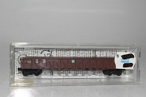 MTL N SCALE #63010 GRAND TRUNK WESTERN 50' COMPOSITE GONDOLA, KNUCKLE COUPLERS