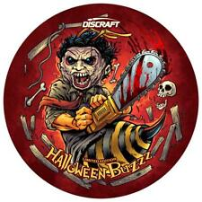 NEW Discraft Disc Golf CHAINsaw Buzzz Halloween LeatherFace SuperColor LE