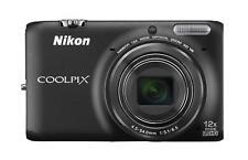 Nikon COOLPIX S6500  Digital Camera   Wi-Fi - 12x Optical Zoom   (Black)
