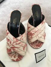 9e5922eeafc GUCCI WEBBY CROSSOVER MULE SANDALS IT 36 US 6