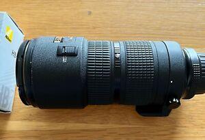 Nikon 80-200 f2.8D AF ED Fast Pro Zoom, superb quality with hood/caps