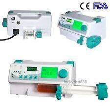 FDA Medical Syringe Pump Injection Infusion KVO Machine with Voice Alarm New