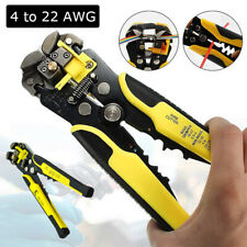 Adjustable Automatic Wire Stripper Electricial Cutter Crimper Terminal Plier Usa