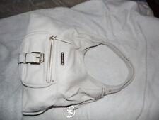 "NWT MICHAEL KORS "" Austin"" Lt. Beige~Cream Leather LG Shoulder Tote Handbag $298"